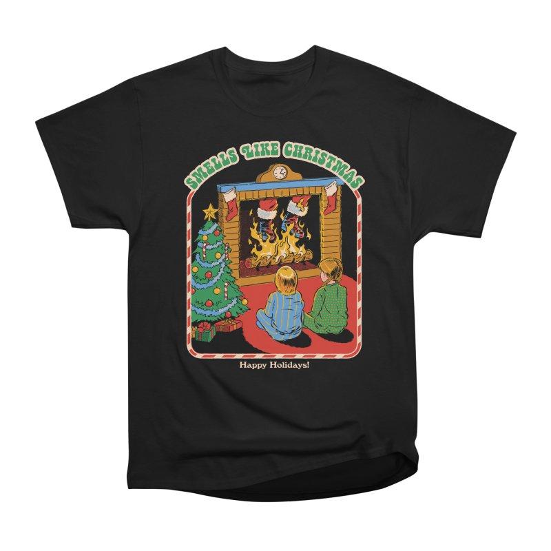 Smells Like Christmas Women's Heavyweight Unisex T-Shirt by Steven Rhodes