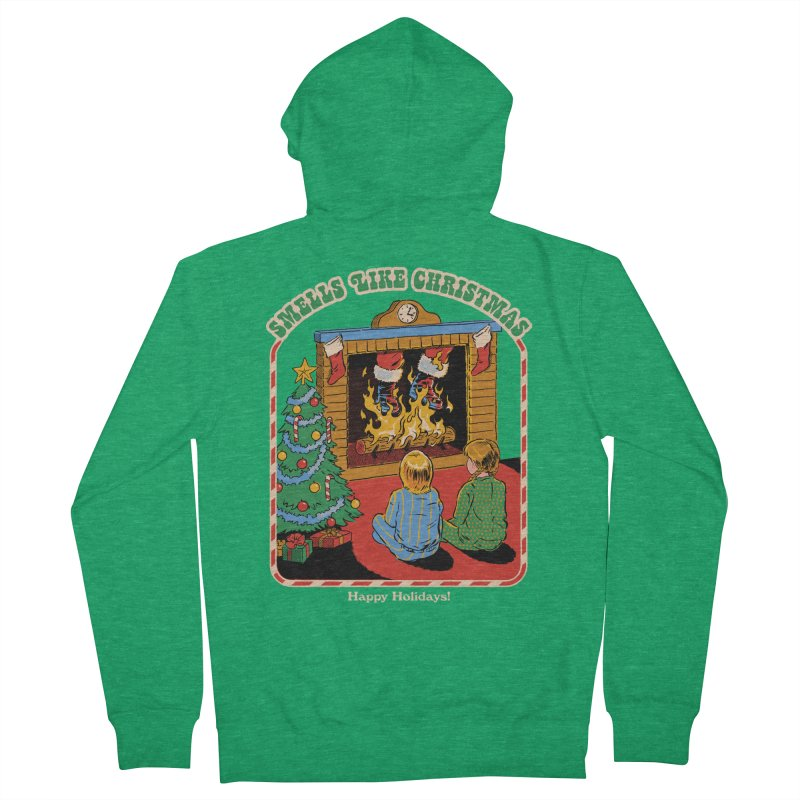 Smells Like Christmas Women's French Terry Zip-Up Hoody by Steven Rhodes