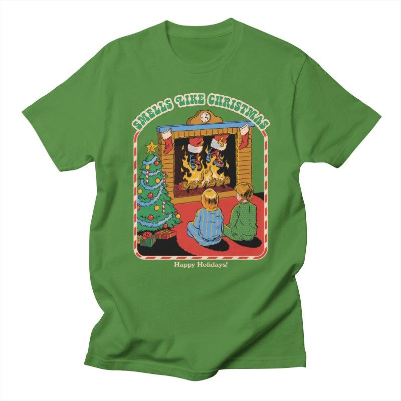 Smells Like Christmas Men's Regular T-Shirt by Steven Rhodes