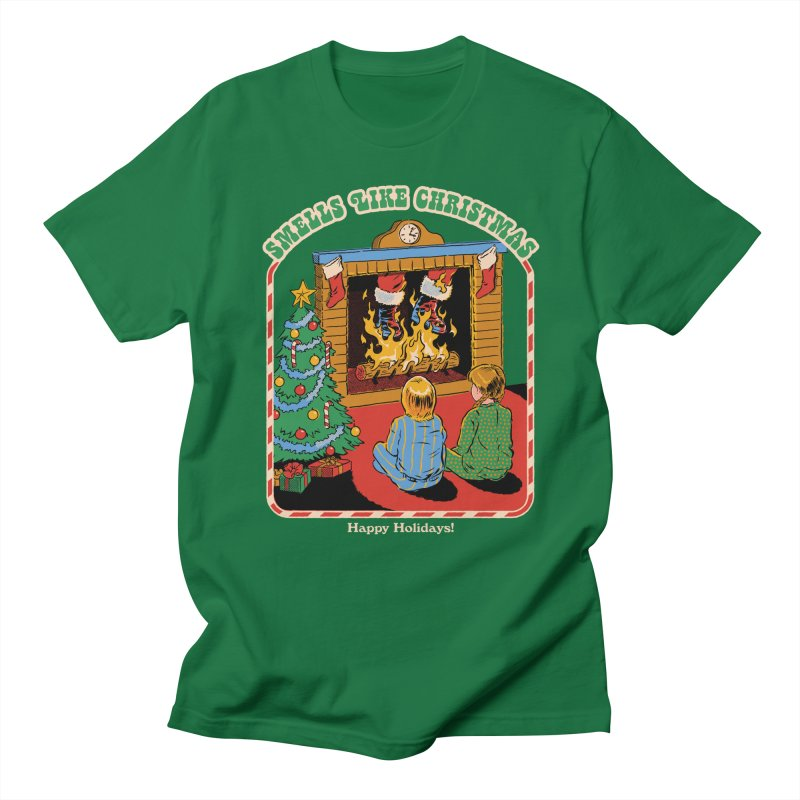 Smells Like Christmas Men's T-Shirt by Steven Rhodes