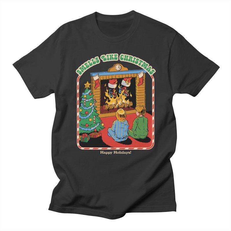 Smells Like Christmas Women's Regular Unisex T-Shirt by Steven Rhodes