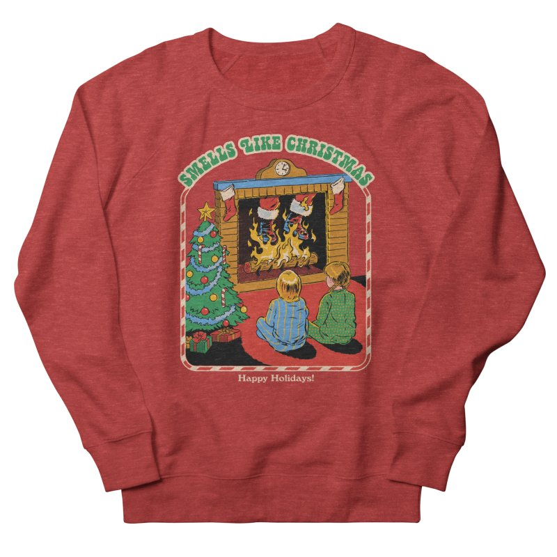 Smells Like Christmas Women's French Terry Sweatshirt by Steven Rhodes