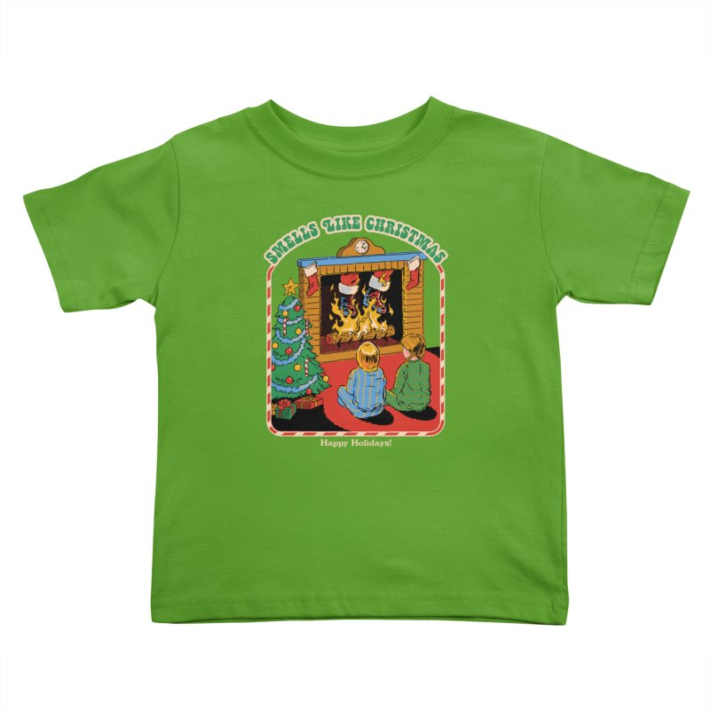 Smells Like Christmas Kids Toddler T-Shirt by Steven Rhodes