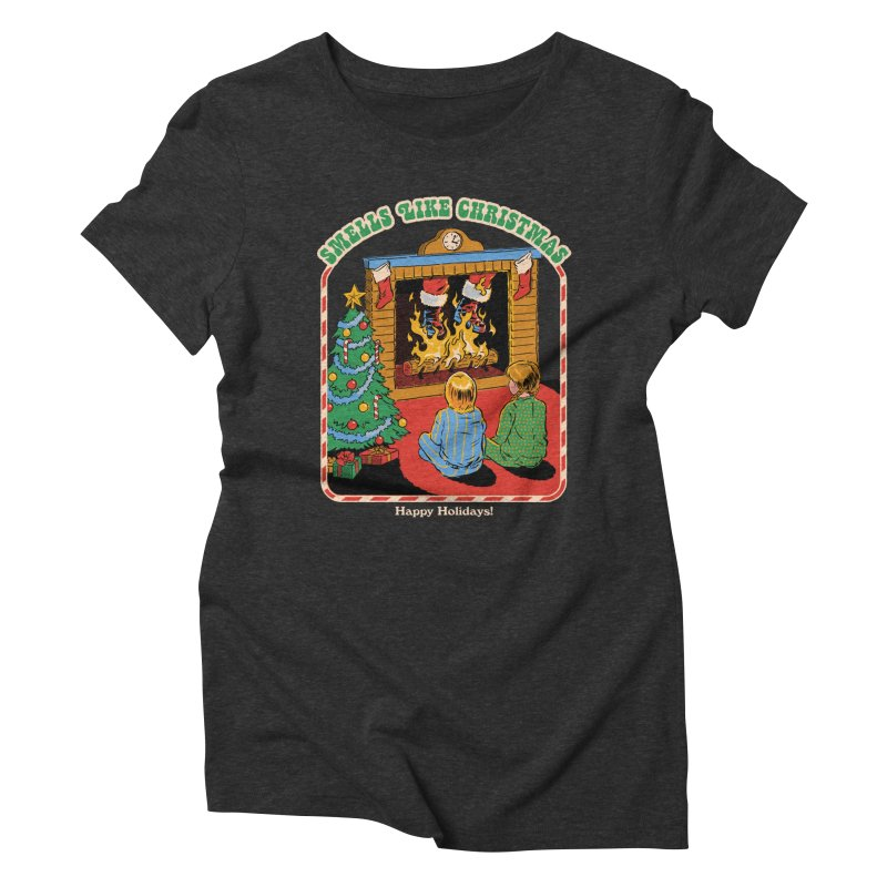 Smells Like Christmas Women's Triblend T-Shirt by Steven Rhodes