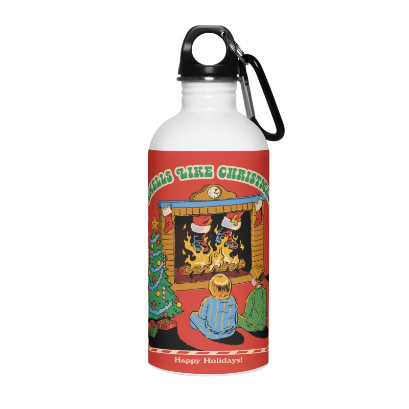 Smells Like Christmas Accessories Water Bottle by Steven Rhodes