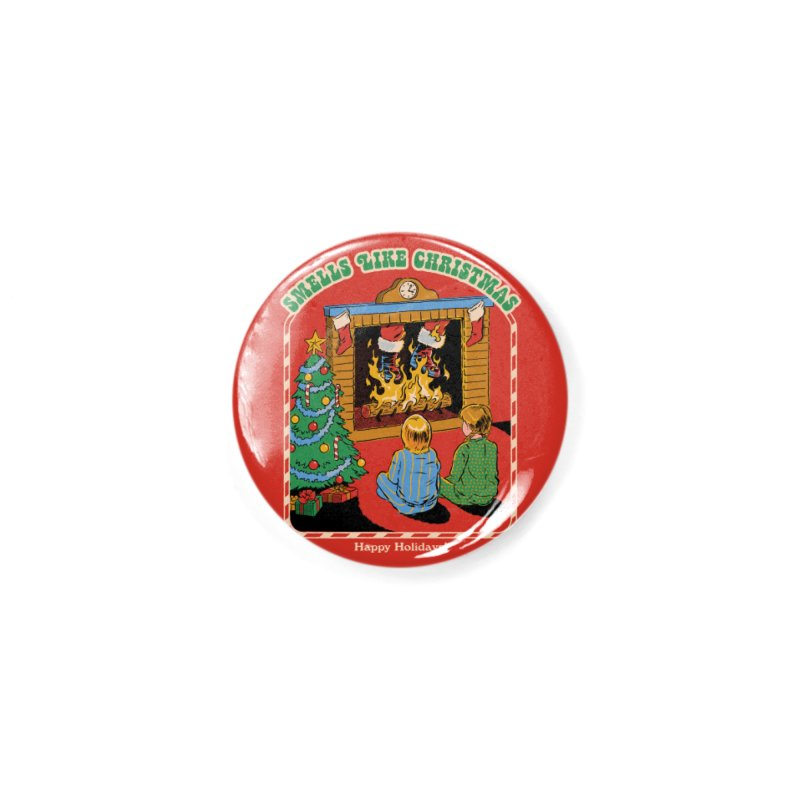 Smells Like Christmas Accessories Button by Steven Rhodes
