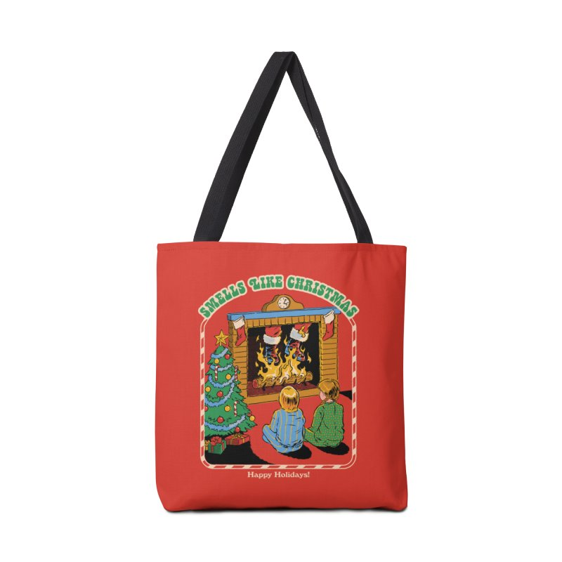Smells Like Christmas Accessories Tote Bag Bag by Steven Rhodes