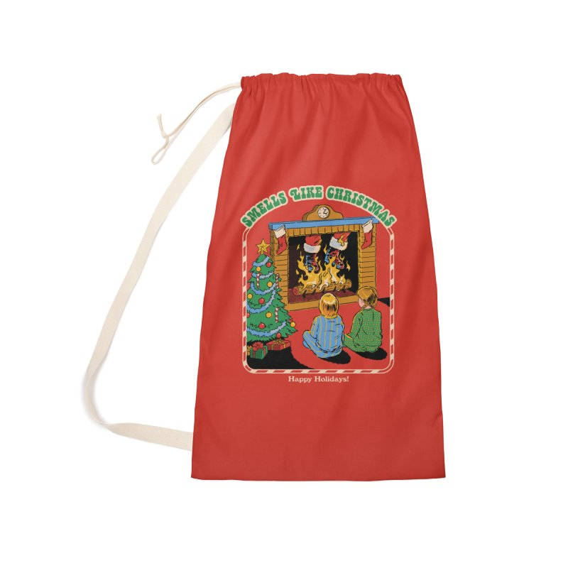 Smells Like Christmas Accessories Laundry Bag Bag by Steven Rhodes