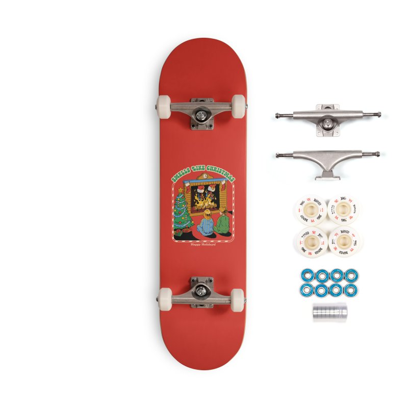 Smells Like Christmas Accessories Complete - Premium Skateboard by Steven Rhodes