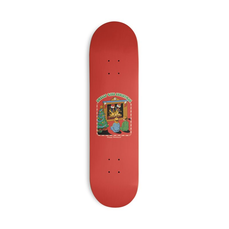 Smells Like Christmas Accessories Deck Only Skateboard by Steven Rhodes