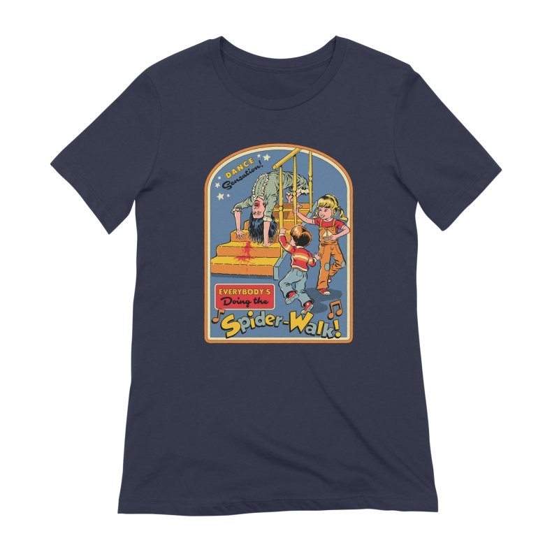 Everybody's Doing the Spider-Walk! Women's Extra Soft T-Shirt by Steven Rhodes