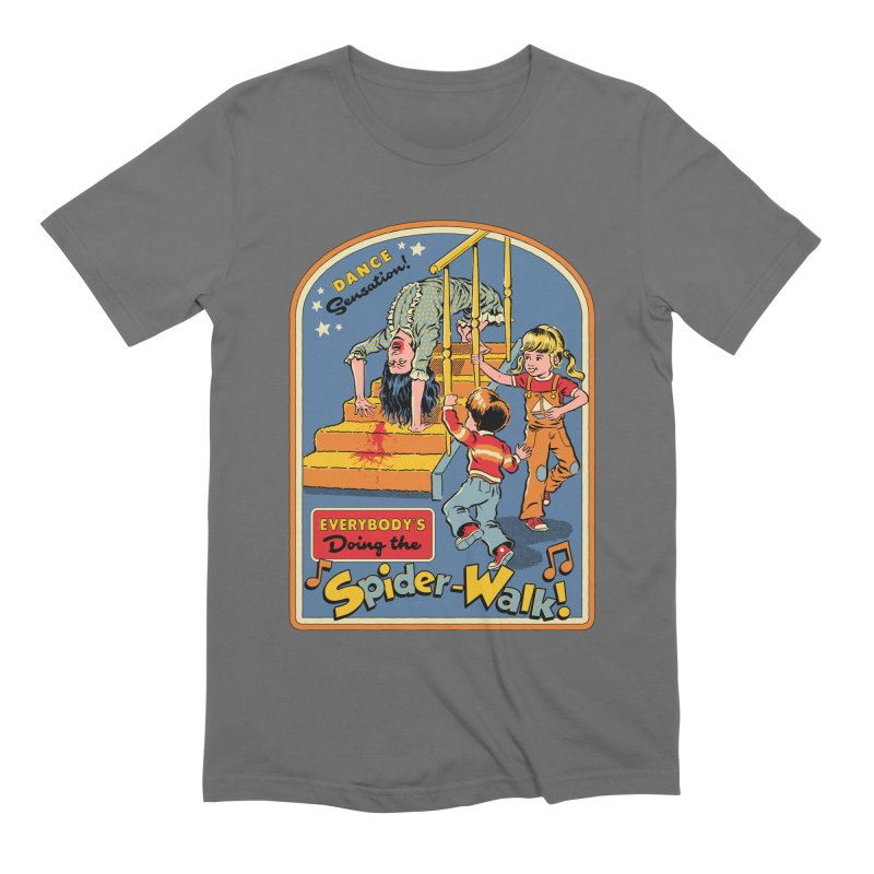 Everybody's Doing the Spider-Walk! Men's Extra Soft T-Shirt by Steven Rhodes