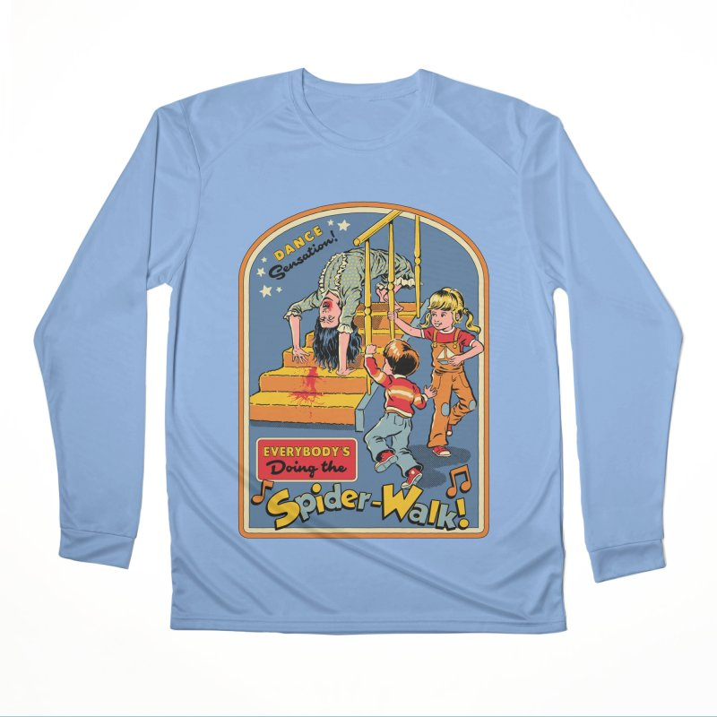 Everybody's Doing the Spider-Walk! Men's Performance Longsleeve T-Shirt by Steven Rhodes