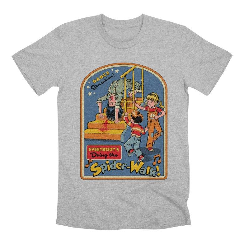 Everybody's Doing the Spider-Walk! Men's Premium T-Shirt by Steven Rhodes