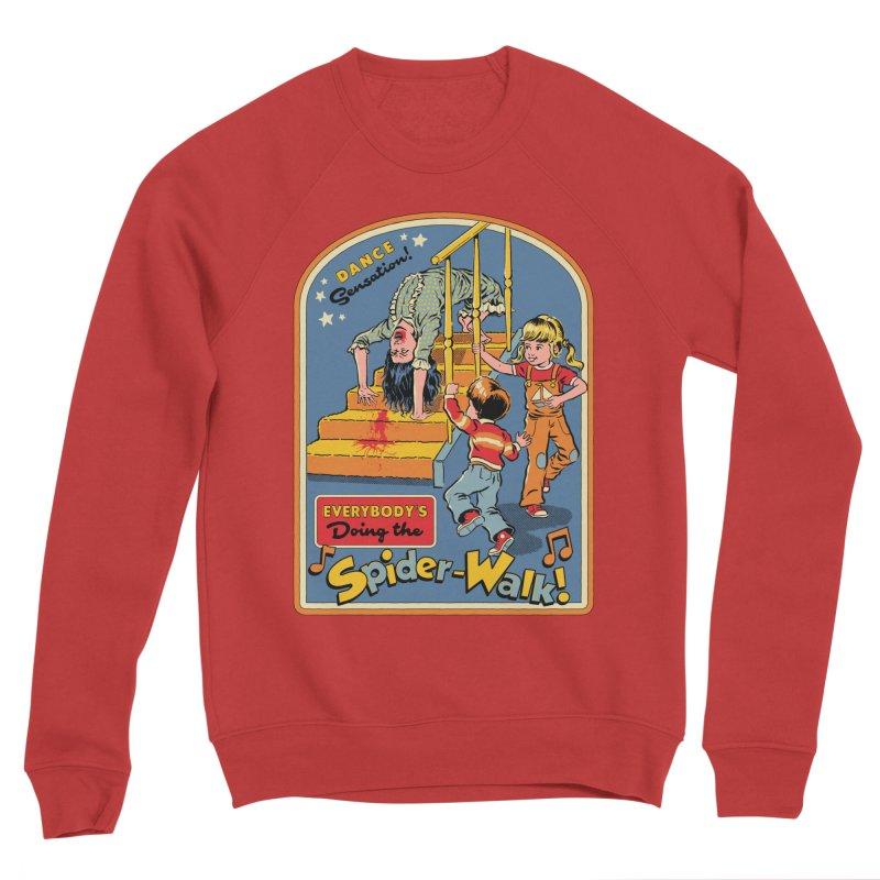 Everybody's Doing the Spider-Walk! Men's Sponge Fleece Sweatshirt by Steven Rhodes