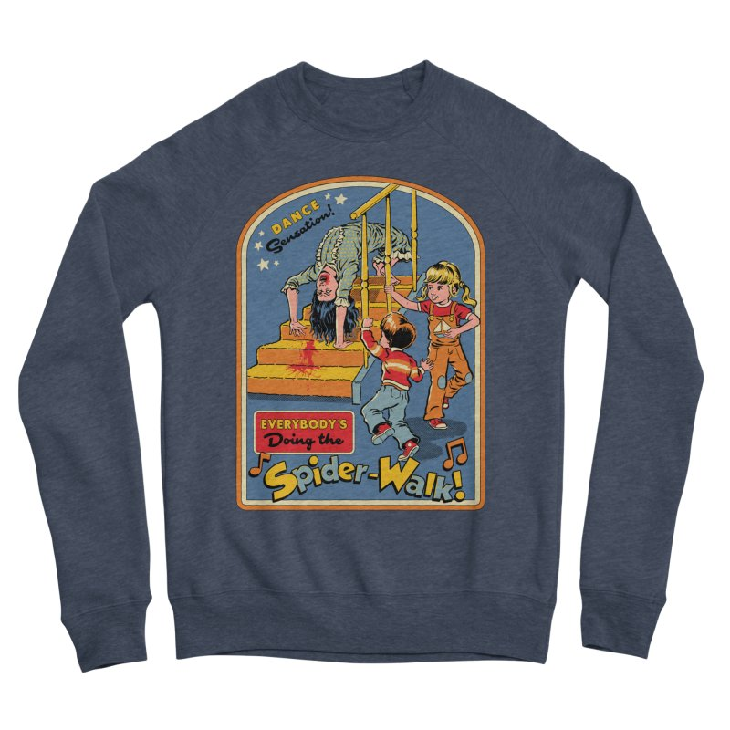 Everybody's Doing the Spider-Walk! Men's Sponge Fleece Sweatshirt by Steven Rhodes
