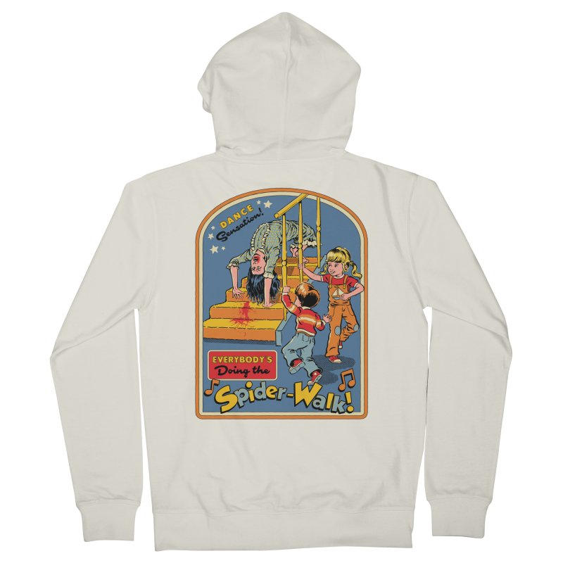 Everybody's Doing the Spider-Walk! Women's French Terry Zip-Up Hoody by Steven Rhodes