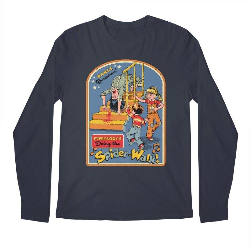 Everybody's Doing the Spider-Walk! Men's Regular Longsleeve T-Shirt by Steven Rhodes