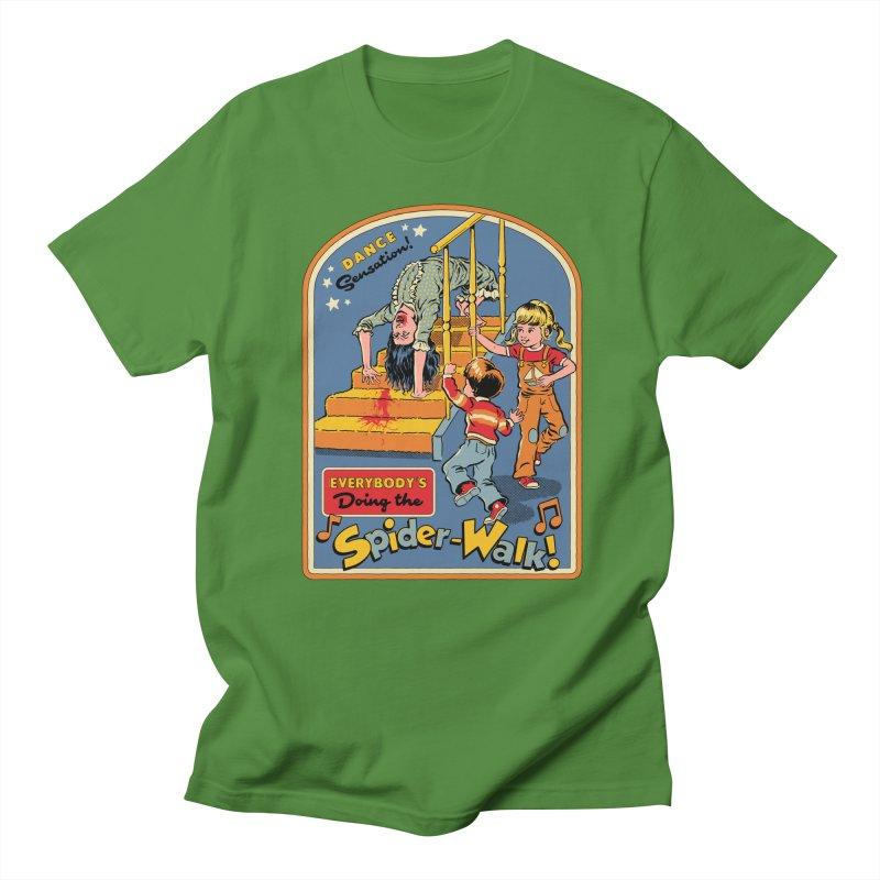 Everybody's Doing the Spider-Walk! Men's Regular T-Shirt by Steven Rhodes