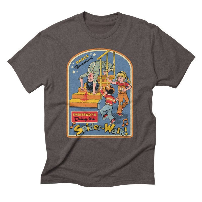 Everybody's Doing the Spider-Walk! Men's Triblend T-Shirt by Steven Rhodes