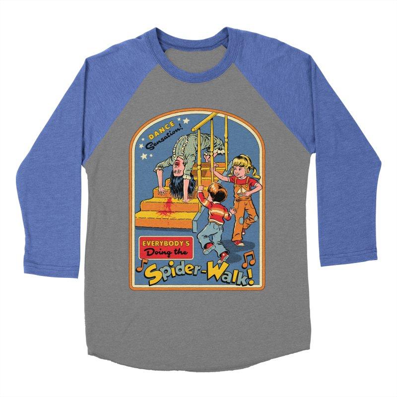 Everybody's Doing the Spider-Walk! Women's Baseball Triblend Longsleeve T-Shirt by Steven Rhodes
