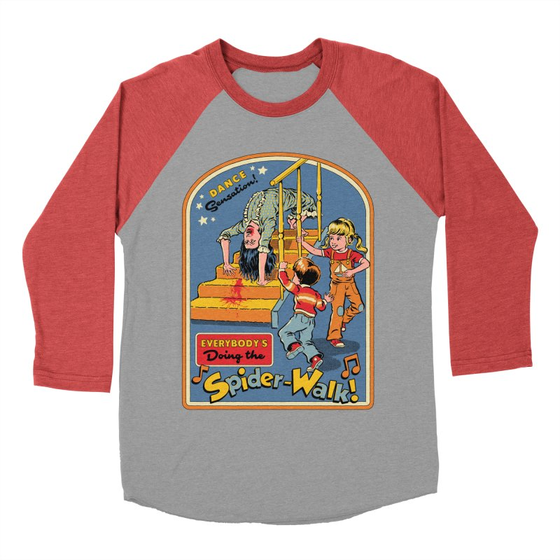 Everybody's Doing the Spider-Walk! Men's Baseball Triblend Longsleeve T-Shirt by Steven Rhodes