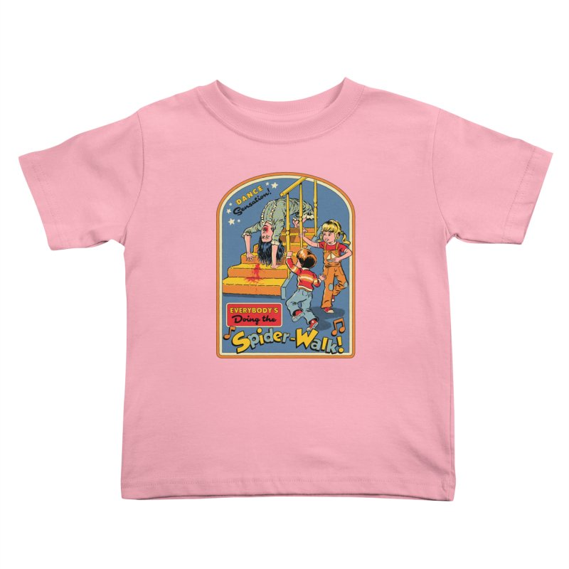 Everybody's Doing the Spider-Walk! Kids Toddler T-Shirt by Steven Rhodes
