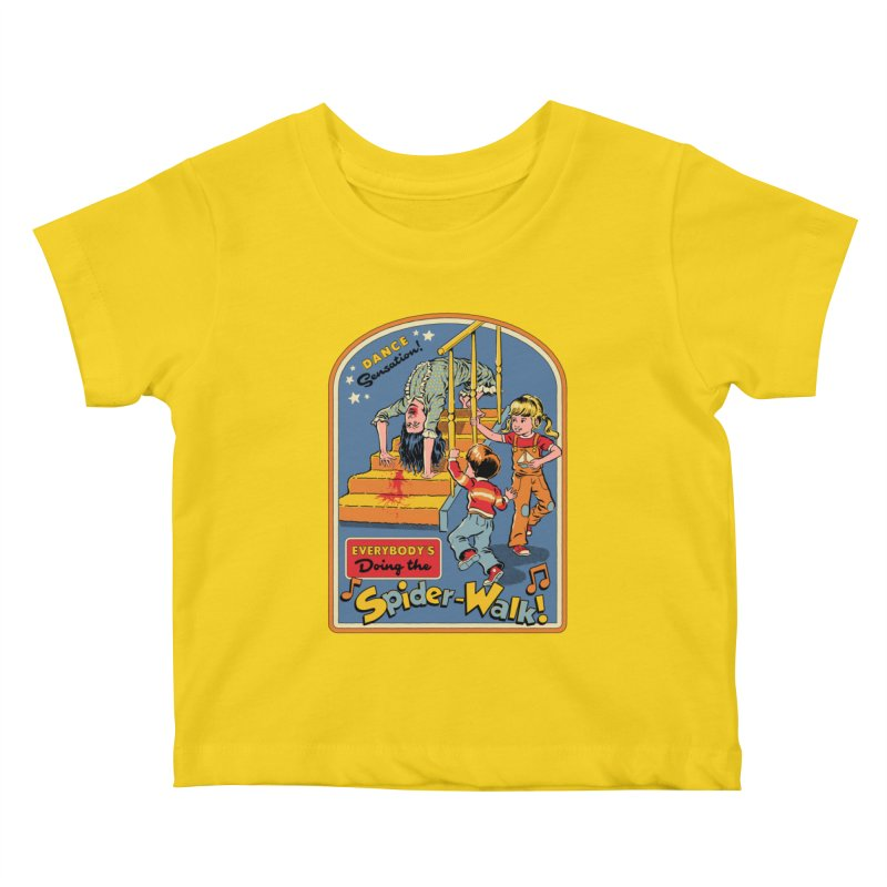 Everybody's Doing the Spider-Walk! Kids Baby T-Shirt by Steven Rhodes