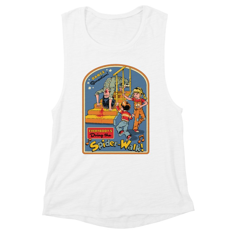 Everybody's Doing the Spider-Walk! Women's Muscle Tank by Steven Rhodes