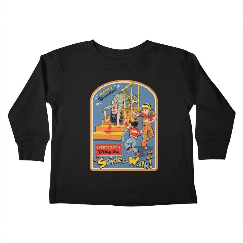 Everybody's Doing the Spider-Walk! Kids Toddler Longsleeve T-Shirt by Steven Rhodes