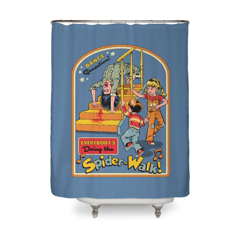 Everybody's Doing the Spider-Walk! Home Shower Curtain by Steven Rhodes