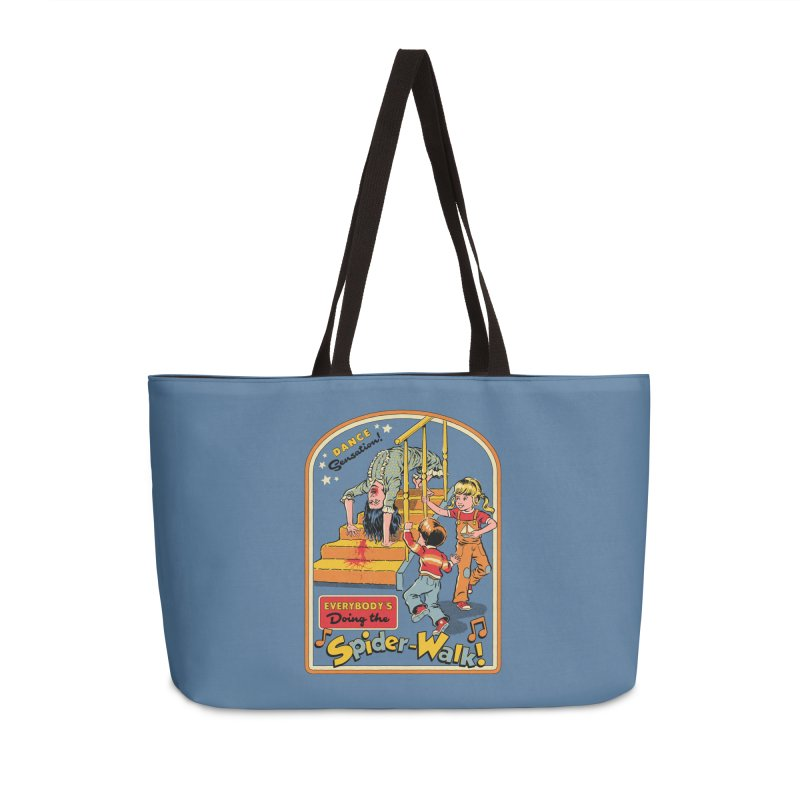 Everybody's Doing the Spider-Walk! Accessories Weekender Bag Bag by Steven Rhodes