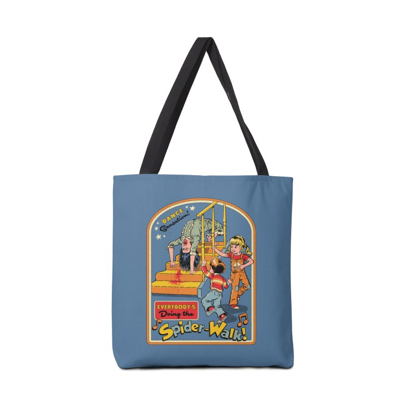 Everybody's Doing the Spider-Walk! Accessories Tote Bag Bag by Steven Rhodes