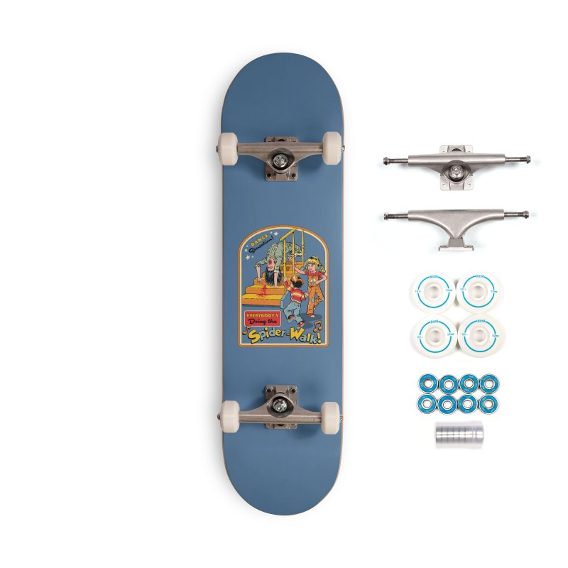 Everybody's Doing the Spider-Walk! Accessories Complete - Basic Skateboard by Steven Rhodes