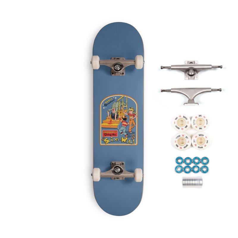 Everybody's Doing the Spider-Walk! Accessories Complete - Premium Skateboard by Steven Rhodes