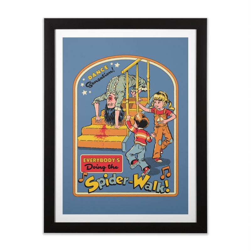 Everybody's Doing the Spider-Walk! Home Framed Fine Art Print by Steven Rhodes