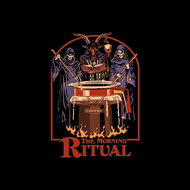 The Morning Ritual Men's T-Shirt by Steven Rhodes