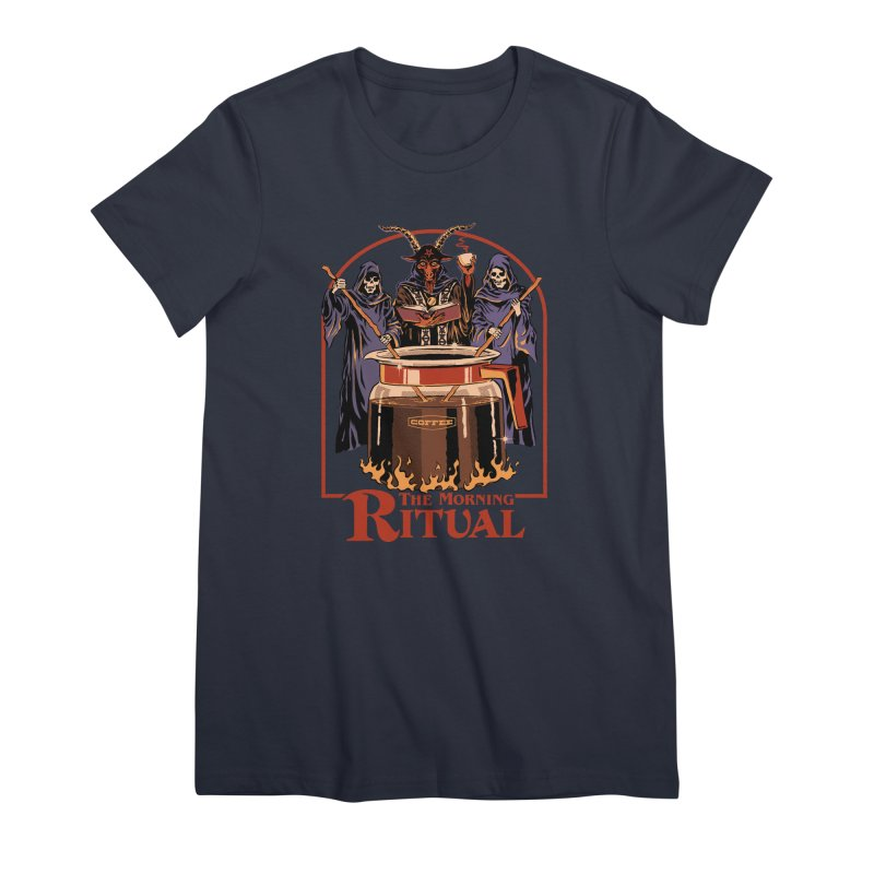 The Morning Ritual Women's Premium T-Shirt by Steven Rhodes