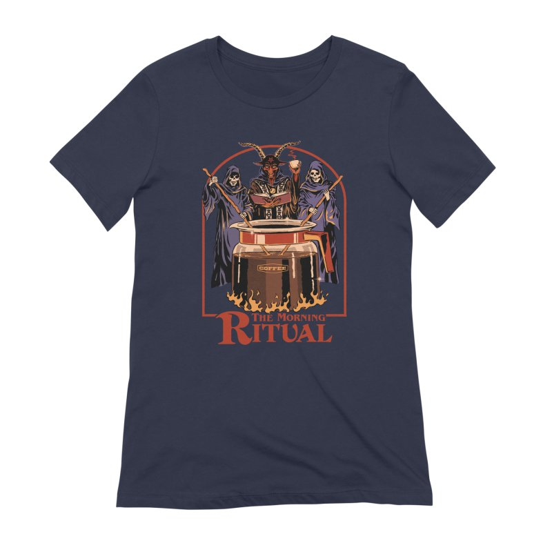The Morning Ritual Women's Extra Soft T-Shirt by Steven Rhodes