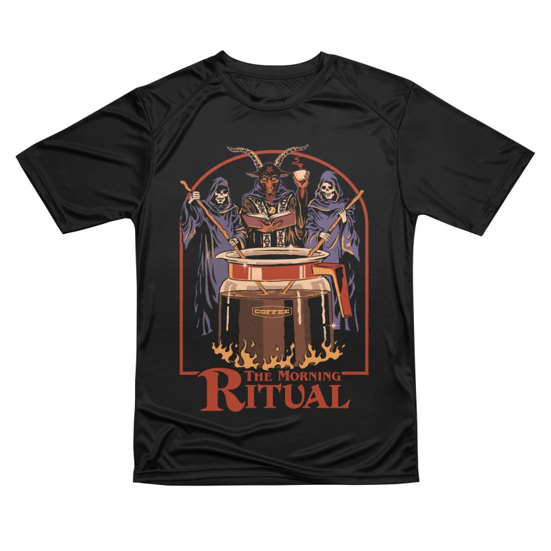 The Morning Ritual Men's Performance T-Shirt by Steven Rhodes