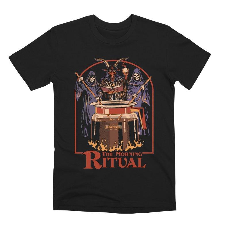The Morning Ritual Men's Premium T-Shirt by Steven Rhodes