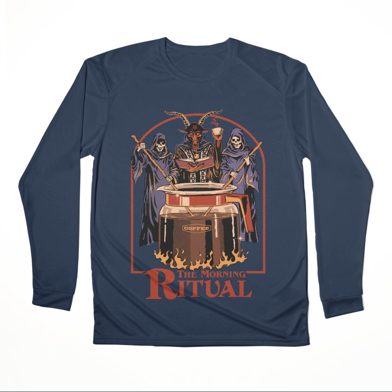 The Morning Ritual Men's Performance Longsleeve T-Shirt by Steven Rhodes