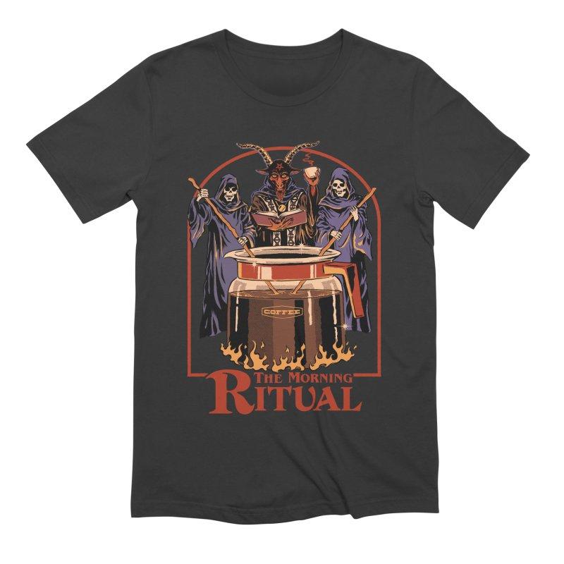 The Morning Ritual Men's Extra Soft T-Shirt by Steven Rhodes