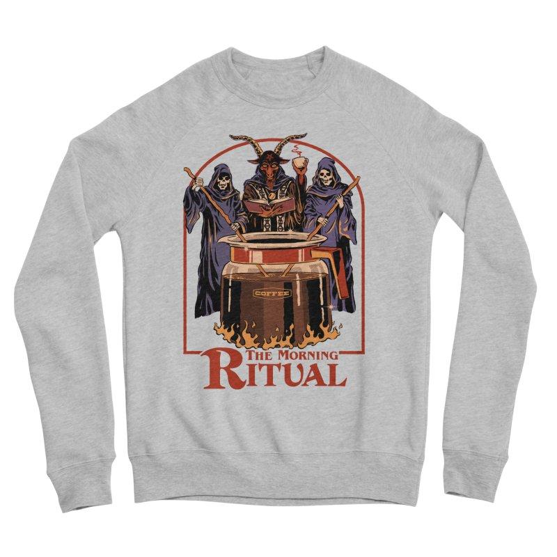 The Morning Ritual Men's Sponge Fleece Sweatshirt by Steven Rhodes
