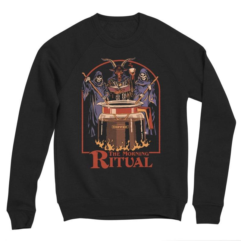 The Morning Ritual Women's Sponge Fleece Sweatshirt by Steven Rhodes