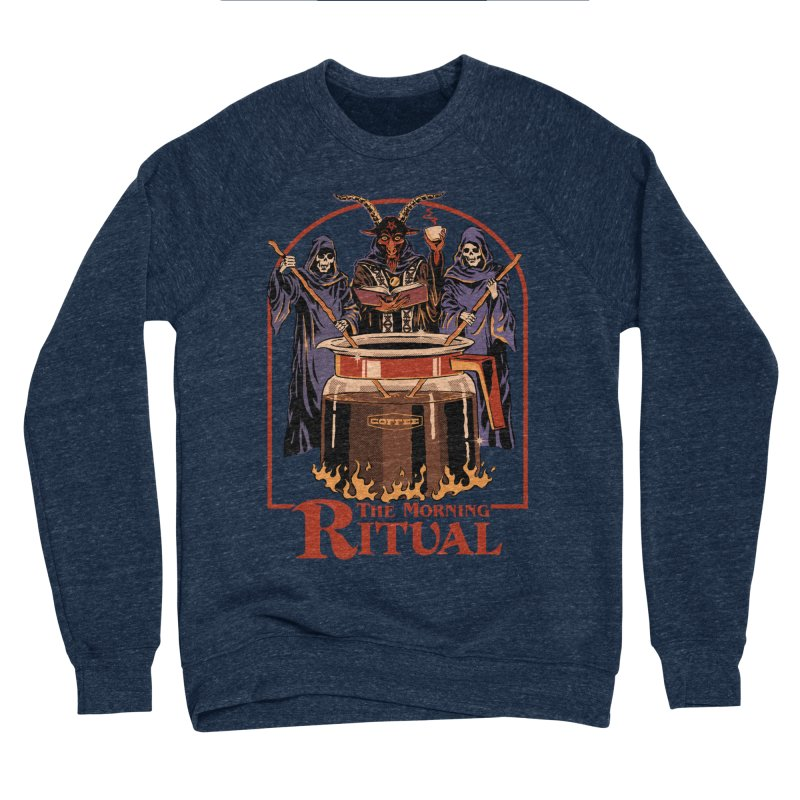 The Morning Ritual Men's Sponge Fleece Sweatshirt by Steven Rhodes