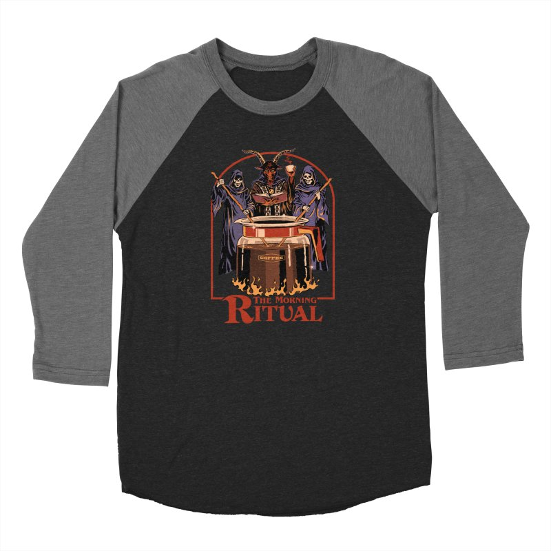 The Morning Ritual Women's Baseball Triblend Longsleeve T-Shirt by Steven Rhodes
