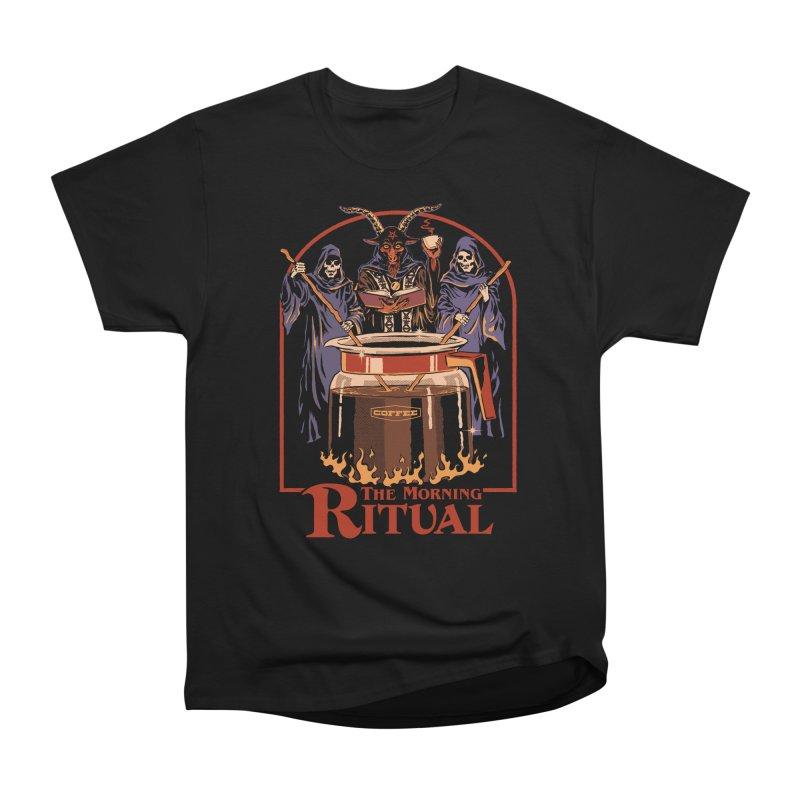 The Morning Ritual Women's Heavyweight Unisex T-Shirt by Steven Rhodes