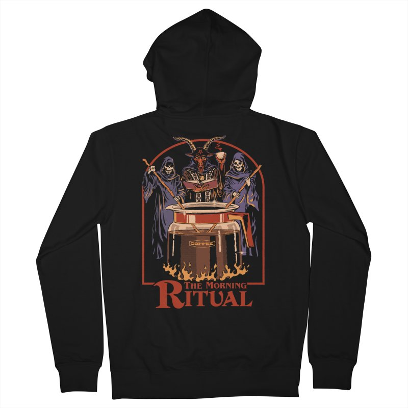 The Morning Ritual Men's French Terry Zip-Up Hoody by Steven Rhodes