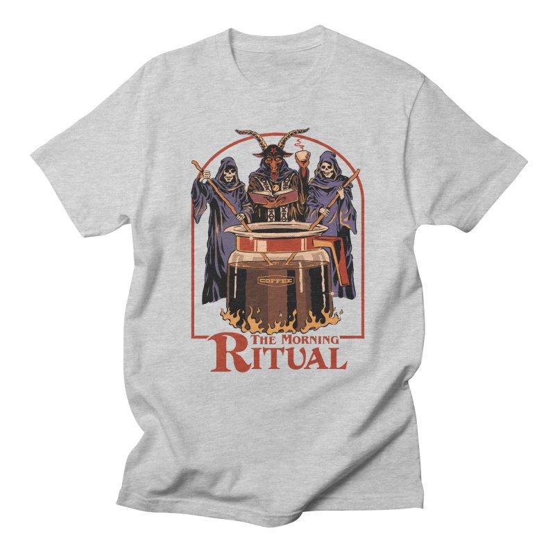 The Morning Ritual Women's Regular Unisex T-Shirt by Steven Rhodes
